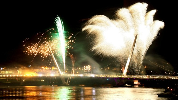 City of Culture 2013 fireworks (taken from itv.com)