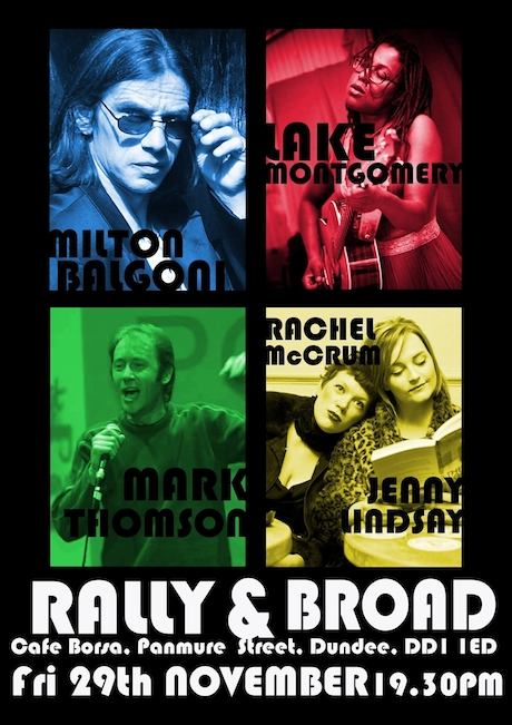 Rally and Broad poster