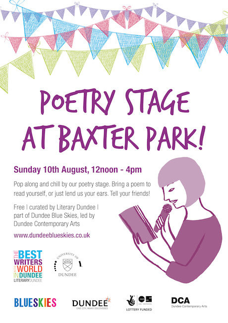 poetry stage poster