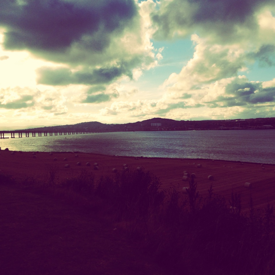 Dundee, River Tay, Landscape, Scotland, Cycling, Bikes, Cities, Fife, Clouds, Cloudscapes