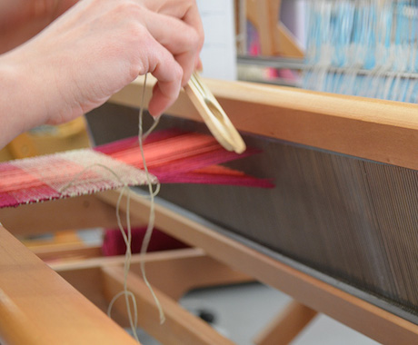 Taster Day weaving
