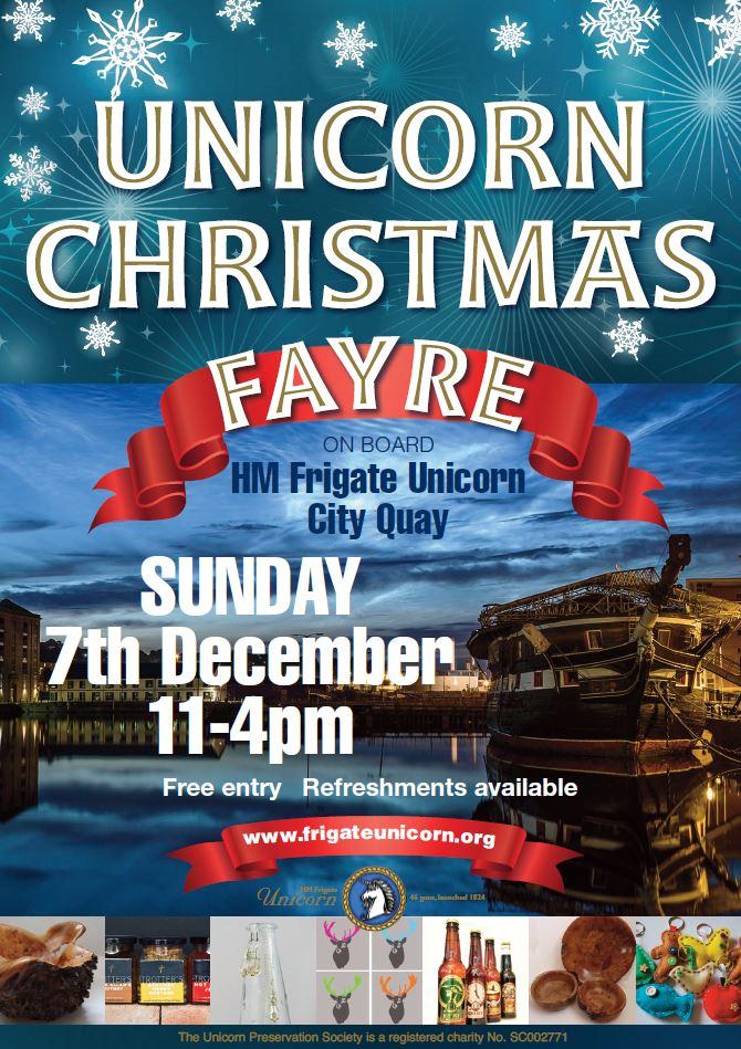 Christmas Fayre poster 2014