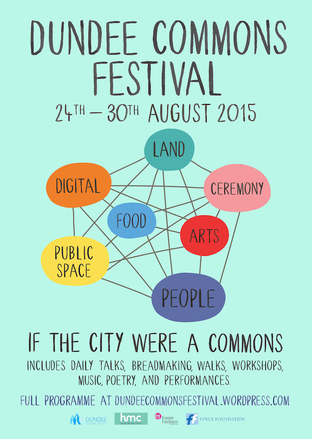 Dundee Commons Festival poster