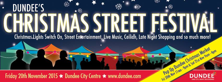 Dundee Christmas Street Festival