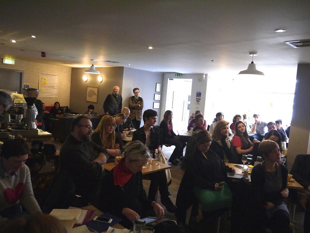 Pop-up design cafe