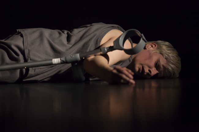 Claire Cunningham in Give Me a Reason to Live Photographer Maria Falconer 3