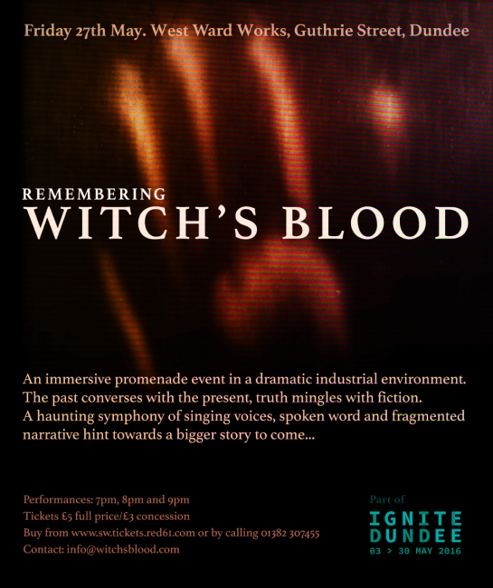 Remembering Witch's Blood - invite [347767]