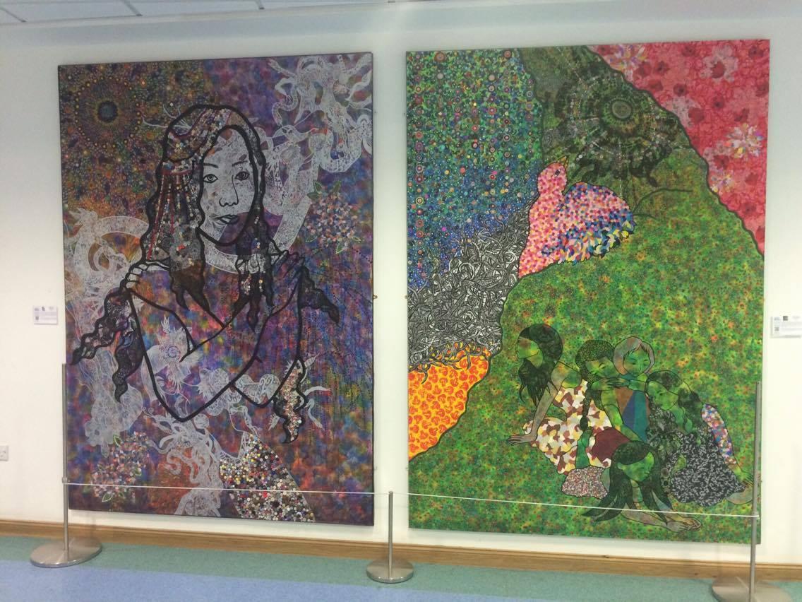 art in healthcare: Maki Hamada - Bird and Sacrifices.