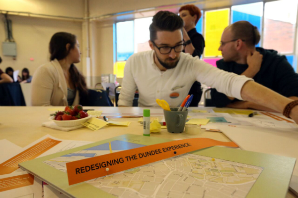 Redesigning the Dundee Experience. Image: Dylan Drummond