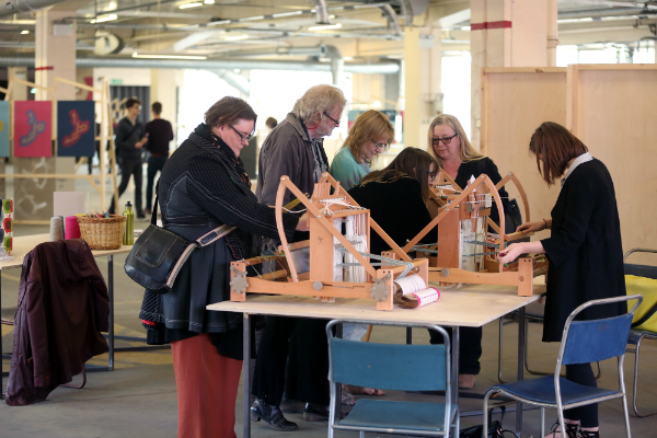 Weaving Workshop. Image: Dylan Drummond