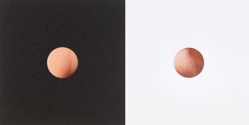 Mark Wallinger, Venus and Mars, 2016. Collage on paper